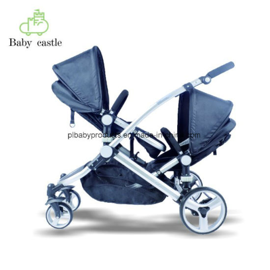 6eabca166 China 2018 Fashion Baby Stroller Luxury Leather Baby Stroller Hot ...