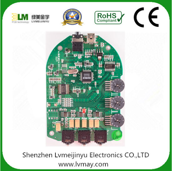 2layer Circuit Board Bare PCB Board Smart Meter PCB Assembly