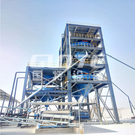 Silica Sand Washing Machine Glass Sand Screen Equipment