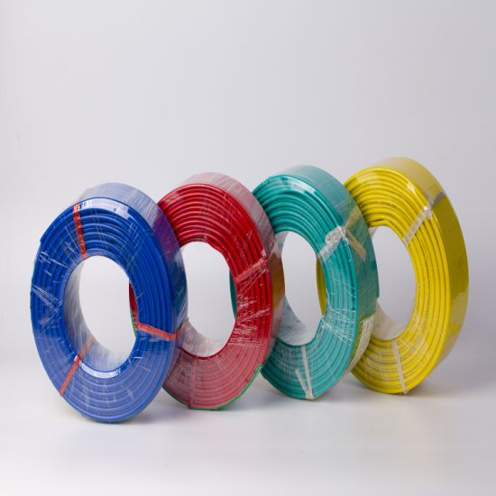 China Supply Electric Wire Copper PVC Insulated Cable Wire H07V-R 450/750V