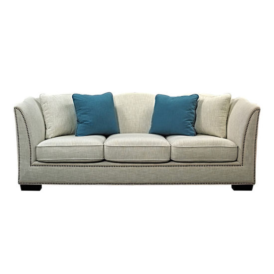 China Hot Sale Modern Furniture Design 2 Seater Office Fabric Sofa