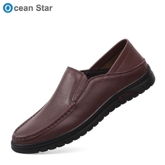 13c119d6 China OEM ODM Genuine Leather Driving Shoes Mens Loafers - China ...