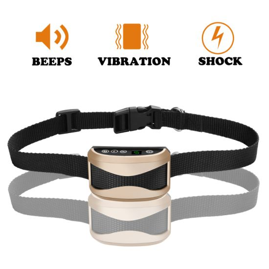Electric Dog Shock Training Collar Anti Bark Trainer Pet Product pictures & photos
