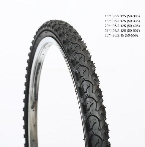 1.95 Butyl Tube Inner Tube Tire for Folding Bikes 20*1.75