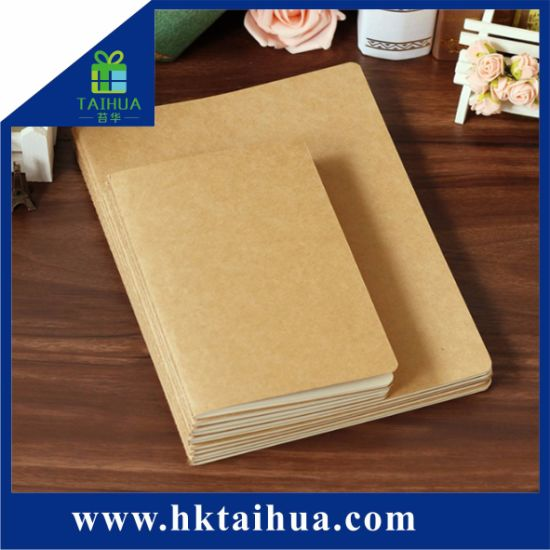 Cheap Price Promotion Item Stationery School/Office/Business Supplies Notebook with Custom Kraft