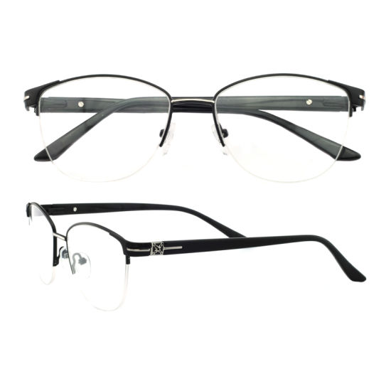 5181f1604740 China Mew Arrival Metal Optical Eyeglasses Frames for Women - China ...