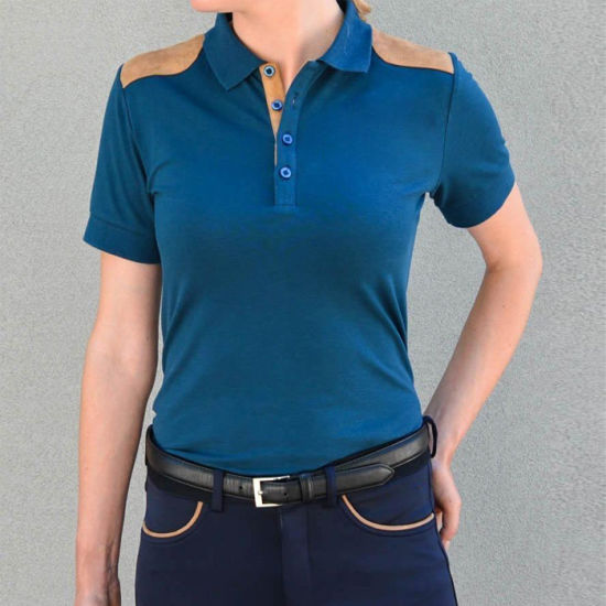 High End Quality Polo T-Shirt Comfortable Horse Riding Shirts Slimming Women Horse Riding Clothing