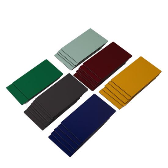 Pre Painted Metallic-Coated Building Material Aluminum Wall Sheet