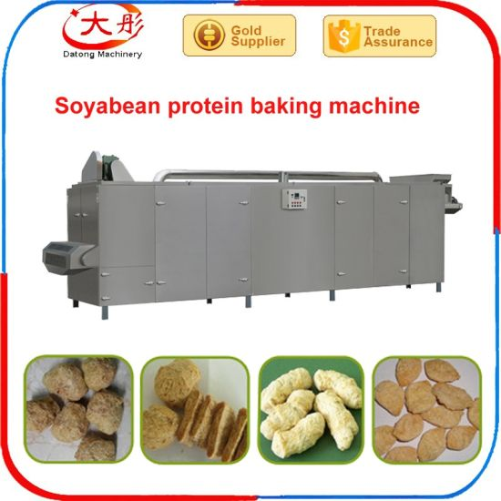 Different Output Textured Soya Making Extruder pictures & photos