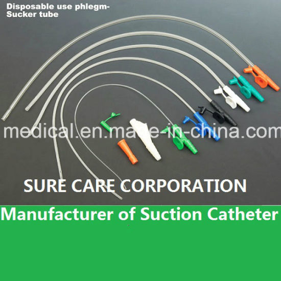Disposable Medical Suction Catheter With Thumb Control