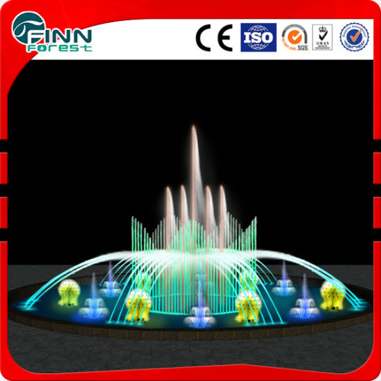 Diameter 10m Music Under Water Light Garden Fountain pictures & photos