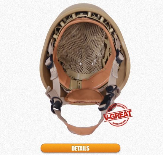 Pasgt (Light Weight) Helmet Bolt-Less Style pictures & photos
