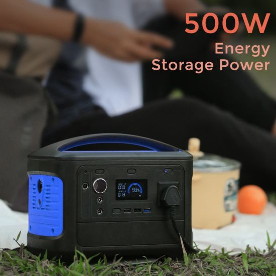 Long-Lasting Standby 14.8V 38.4ah Online Backup Portable Power Station Solar Generator Power Source Power Supply OEM/ODM Multiple Color