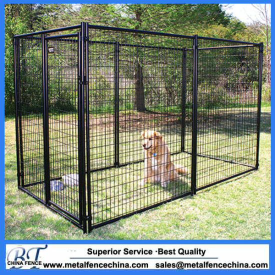 Welded Large Dog Cage Backyard Dog Kennels