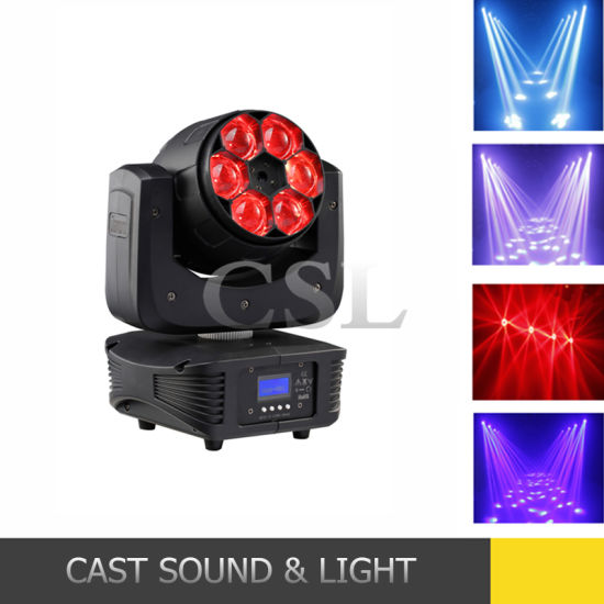 Diamand 6X15W Bee Effect LED Moving Head Beam Light pictures & photos