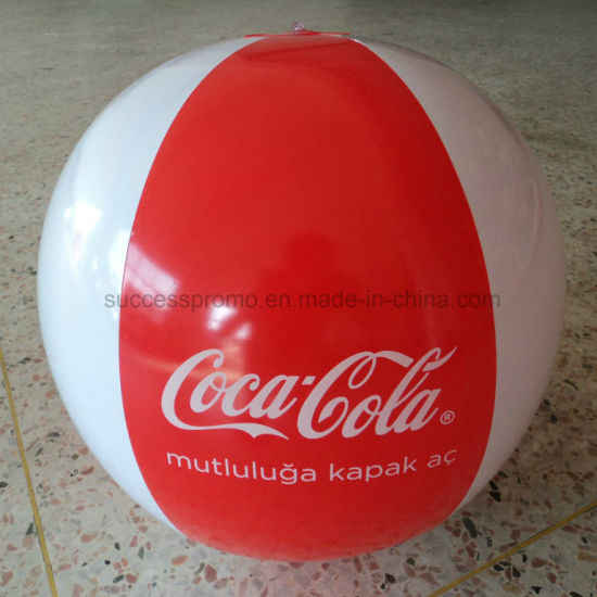 Promotional PVC Inflatable Beach Ball with Customized Logo