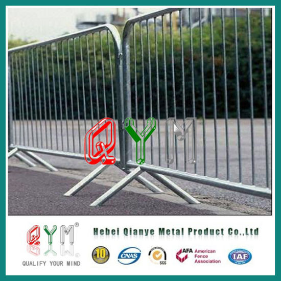 Barricade Road Safety Fence/ Construction Temporary Chain Link Fence Panels