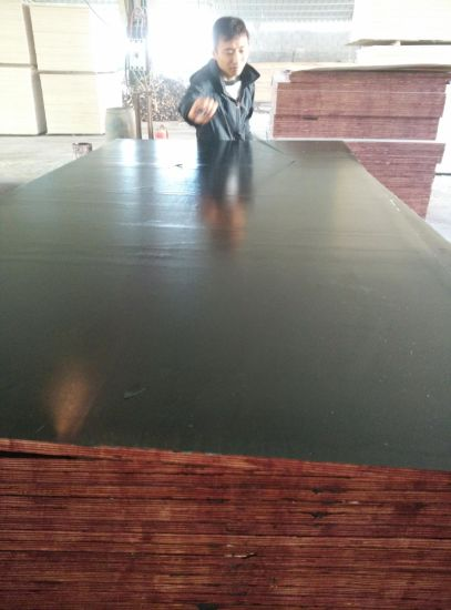 Chinese Film Faced Plywood for Concrete Formwork pictures & photos