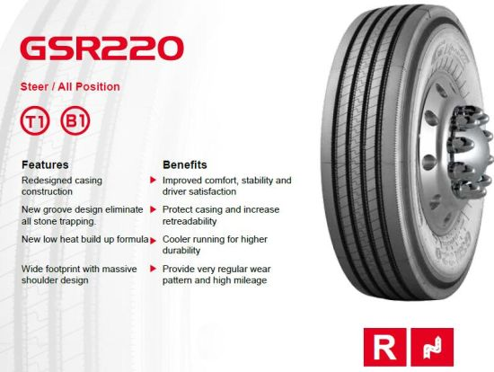 Gt Radial Truck Tire 315/80r22.5 Giti Tyre 13r22.5 pictures & photos