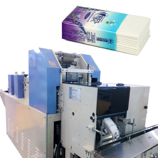Automatic Count Pocket Tissue Paper Making Machine
