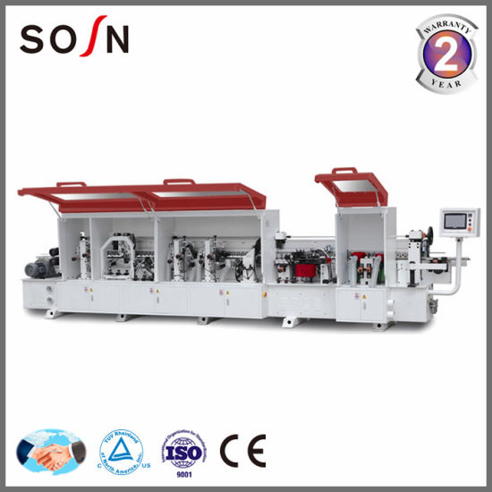Fz-450DJ with Pre Milling and Corner Trimming Woodworking Automatic Edge Banding Machine