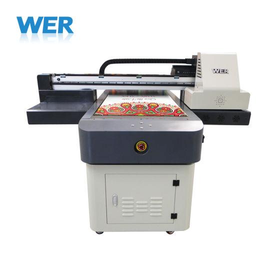LED UV Flatbed Printer for Glass, Ceramic, Wood, Plastic, Leather, PVC, Kt Board, Factory