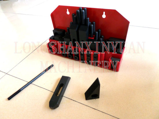 M8X10mm Deluxe Steel High Hardness 52PCS Clamping Kit pictures & photos