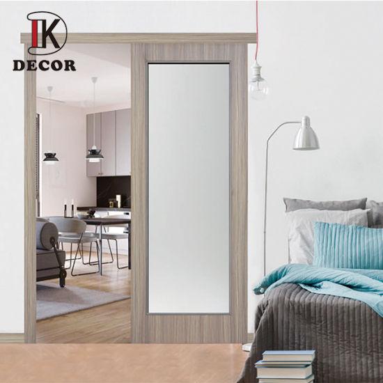 China Philippines Interior Wooden Sliding Door Interior Doors With Glass Panel Toilet Door Price China Slide Door Wood Door