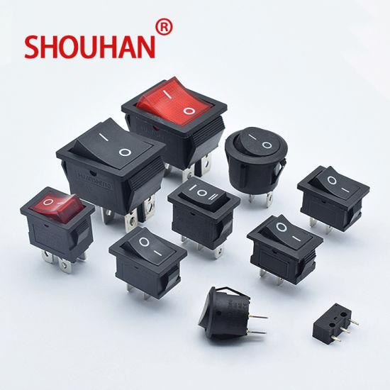 on-off-on/on-off Round Head/Square Head 2 Pin /3 Pin Boat Switch All Series Rocker Switch
