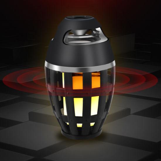 China Led Flame Speaker Waterproof, Led Flame Lamp Bluetooth Speaker