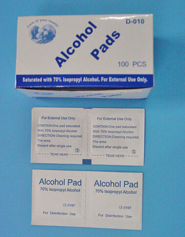 Medical Sterile Alchol Prep Pad with 70% Isopropyl Alcohol pictures & photos