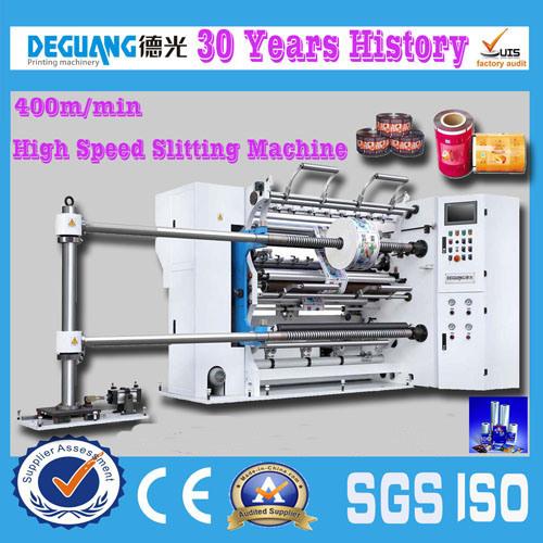 Jumbo Roll Thermal Paper and Adhesive Tape Slitting Machine