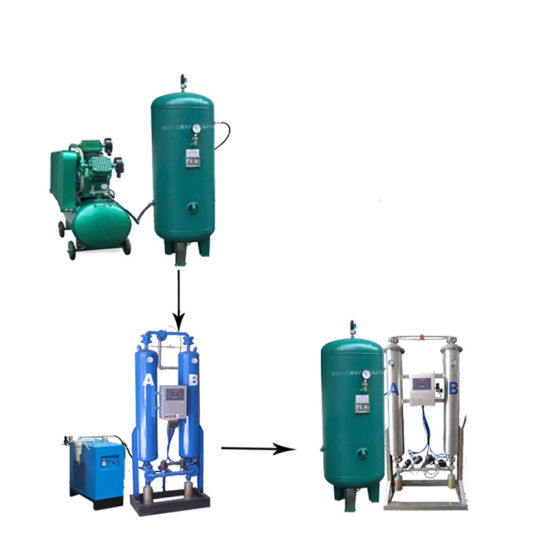 China 30lpm 50lpm 100lpm Oxygen Generator for Ras System in Fish
