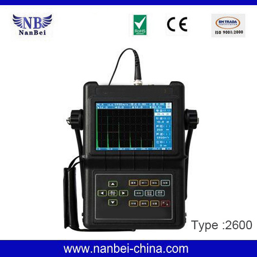 Portable Digital NDT Ultrasonic Flaw Detector pictures & photos