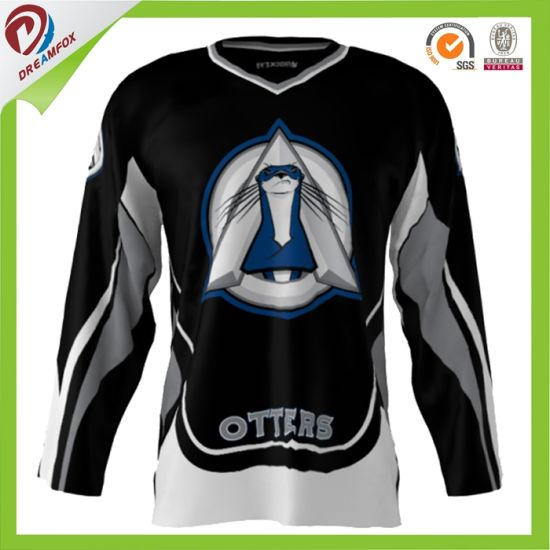 High Quality Customized Ice Hockey Practice Jerseys Wholesale Sublimation Ice Hockey Jersey pictures & photos