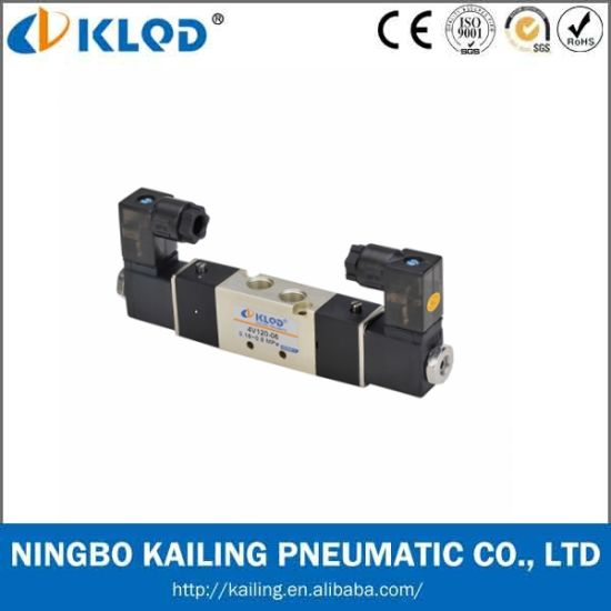 Double Head AC220V Pneumatic Solenoid Valve pictures & photos