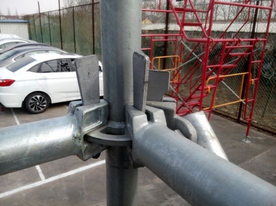 Construction Material Ringlock System Scaffolding for Sale (FF-0014) pictures & photos