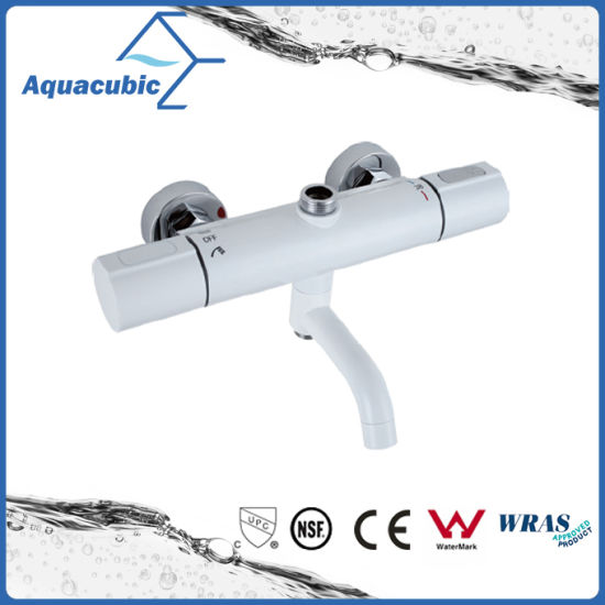 Round Bar Mixer Shower Set Thermostatic Valve with Spout for Bathtub (AF7366-7) pictures & photos