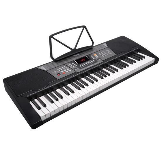 Mk829 Keyboard 61 Key Standard Piano Keys Adult Children Beginners Teaching  Digital Piano
