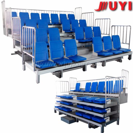 Jy-720 China Supplier Factory Price Indoor Outdoor Gym Bleachers for Sales Grandstands Movable Folding Bleachers Retractable Telescopic Seating