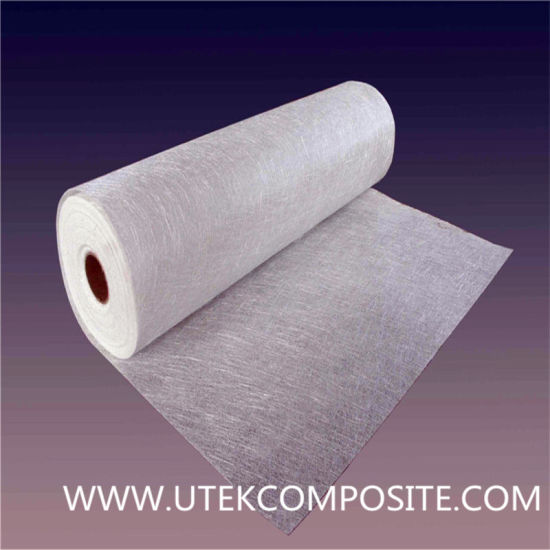 One Side Untrimmed Emulsion 300GSM Fiberglass Chopped Strand Mat pictures & photos
