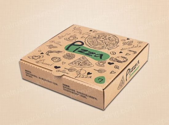 Takeaway Custom Wholesale Pizza Boxes Cartons with Factory Price pictures & photos