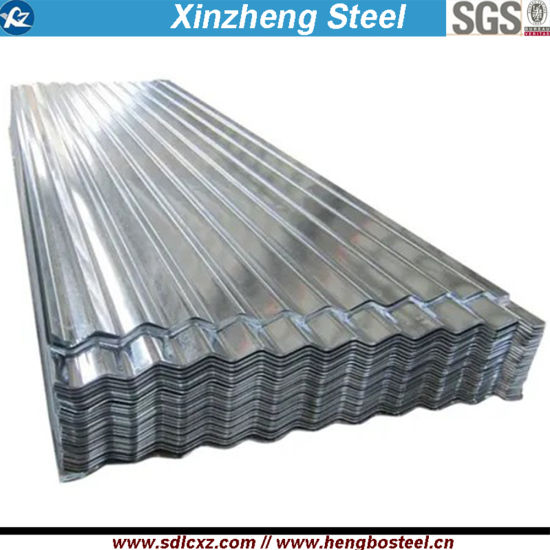 Building Material Steel Corrugated Galvanized Roofing Sheet Dx51d+Z