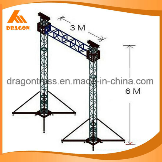 Aluminum Truss for Hanging LED Screen and Speakers pictures & photos