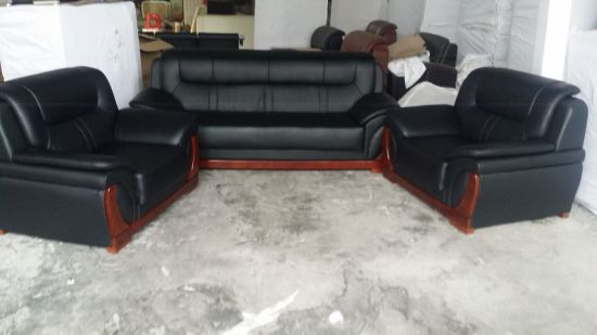 Leather Sofa Modern Sofa Office Sofa (FEC710) pictures & photos
