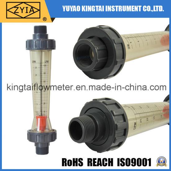 Easy to Read PVC Sea Water Flowmeter