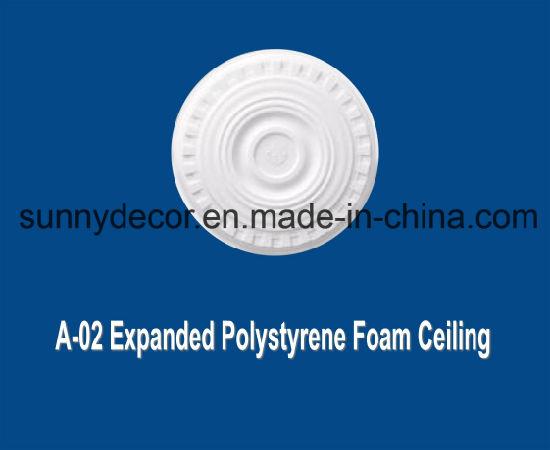 EPS Foam Cornice a-02 Expanded Polystyrene Foam Ceiling