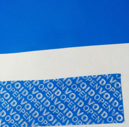 China Good Quality Security Seal; Tamper Evident Void Sticker