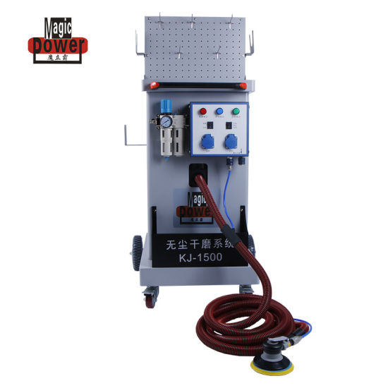 Mobile Dry Sanding Machine with Dust Extractor for Car Paint with Ce Approval pictures & photos