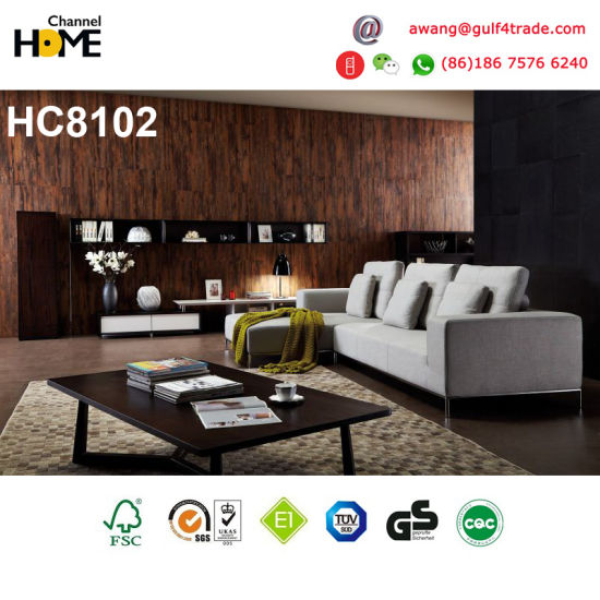 China 2017 Latest New Design Modern Corner Sofa with Chaise (HC8102 ...